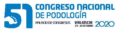 51 Congreso Nacional de Podología. Logo
